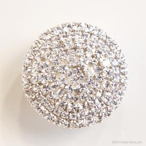 glamour knob - crystal bling