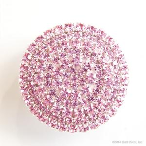 glamour knob knobs bling crystal