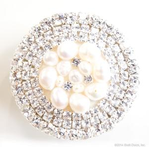 glamour knob - ivory pearl