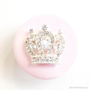 glamour knob - princess crown