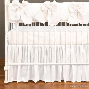 serafina crib rail collection - white