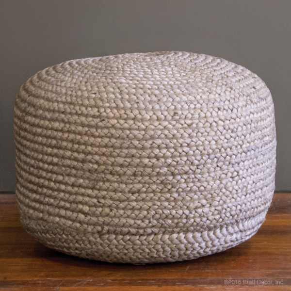 Superb Jute Pouf Ottoman 18 Jute Hemp Rope Pouf Ottoman Free Machost Co Dining Chair Design Ideas Machostcouk