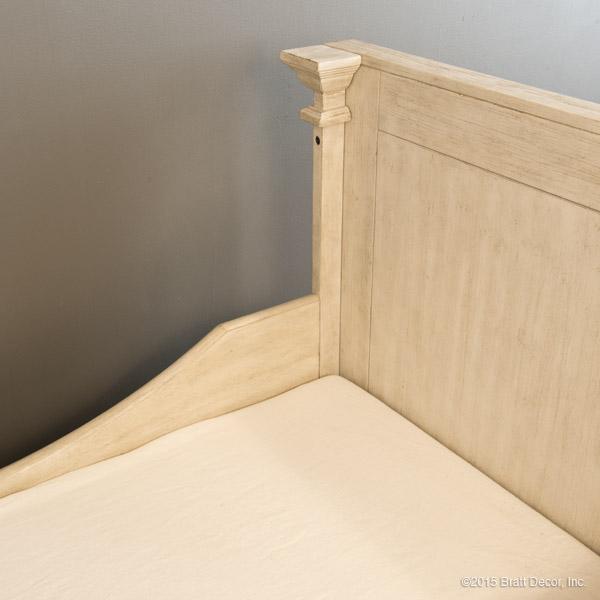 hampton toddler bed kit driftwood