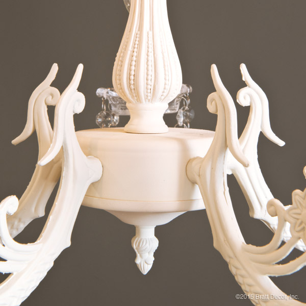 chandeliers ivory crystal light lighting