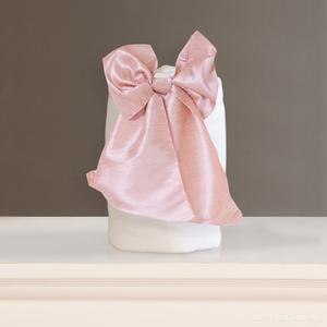 round oval bow bows faux
