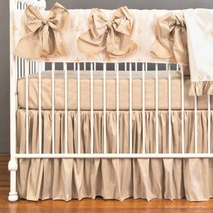 fleur di lis crib rail collection