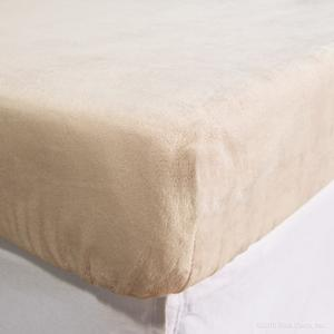 sheets fitted minky soft velour
