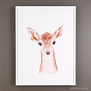 baby deer portrait