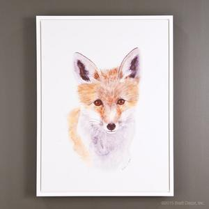 baby fox portrait