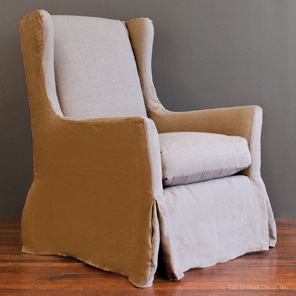 slip cover for wing chair chair covers