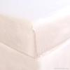 luxury cotton crib sheet white