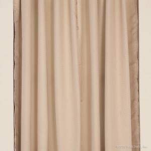 faux silk curtains panel window