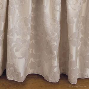 round neutral silk skirts oval