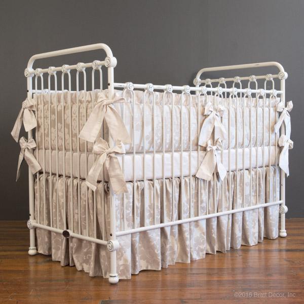 Ivory Crib Skirt 118