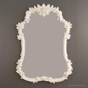 mirrors wall decor glass white