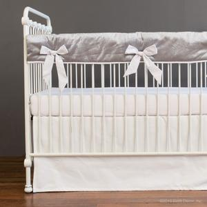 allie crib rail cover set