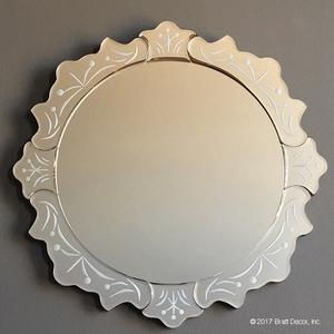 mirrors decor glass beveled clear