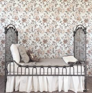 wall paper decal floral temporary