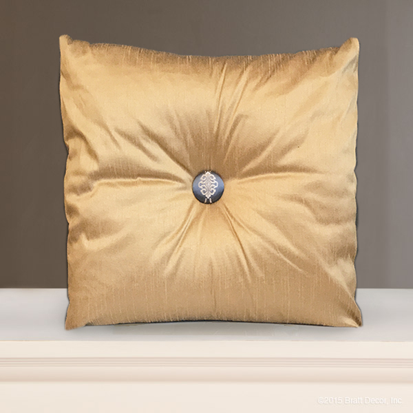 Decorative Pillows For Crib : royal bleu crib pillow