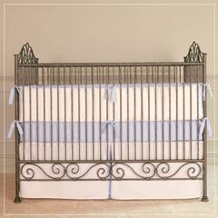 casablanca crib pewter