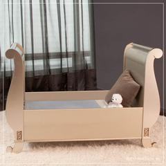 chelsea toddler bed conv. kit ant. silver