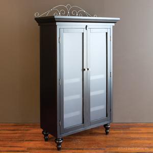 classic armoire black