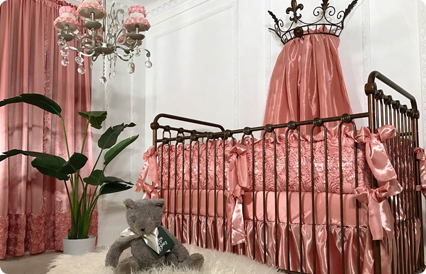 Luxury Crib Bedding by Bratt Decor