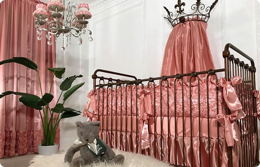 Luxury Crib Bedding By Bratt Decor