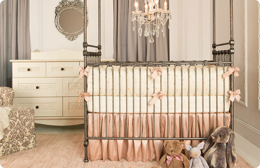 Crib Bedding for your Baby Girl | Bratt Decor