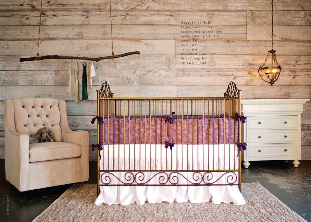 Baby Crib Designer Nursery Luxury Crib
