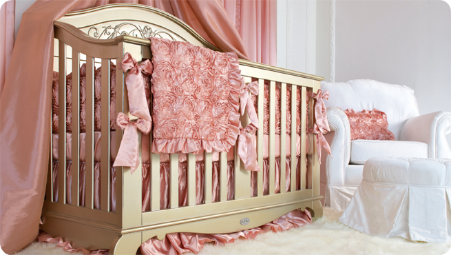 gia's rose pink bedding collection